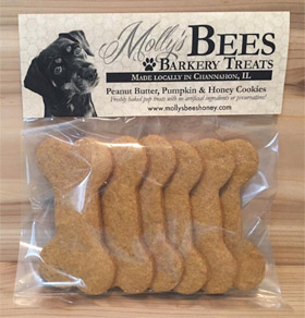 Molly's Bee's Honey Barkery Cookies